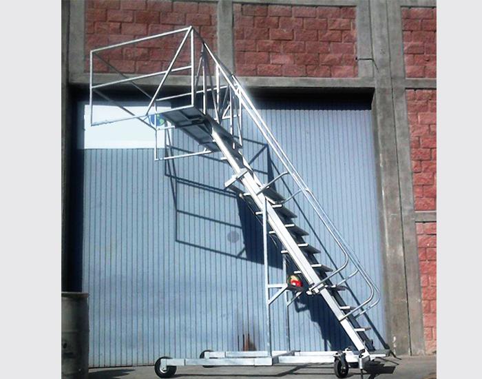 Con o sin puertas en la plataforma para seguridad del operador