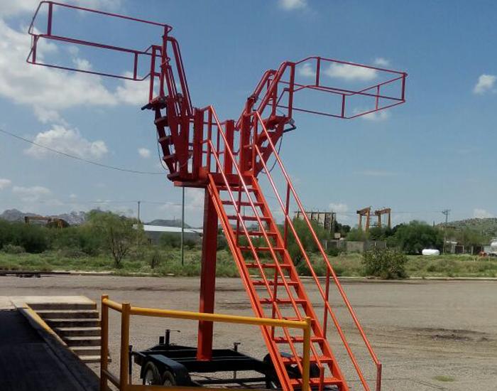 Capacidad de carga en estructura principal: 300 kg
