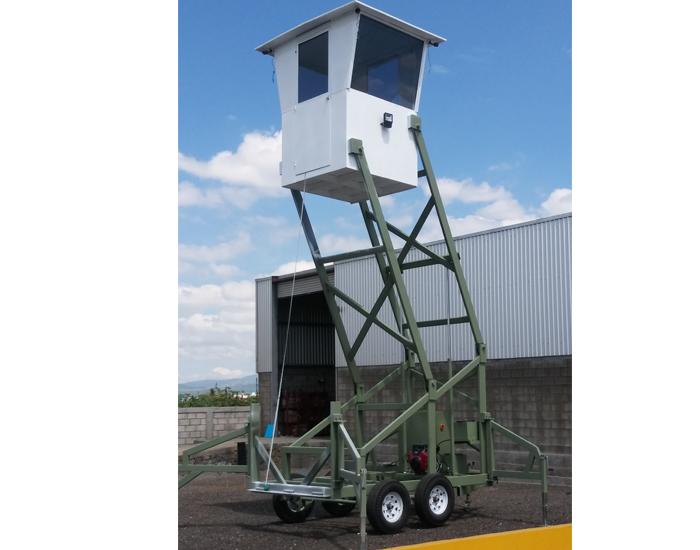 Comando de vigilancia móvil sin rotulaciones