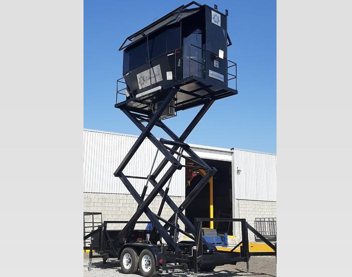 Comando de vigilancia para cuatro personas