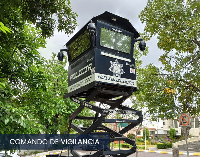 Comando de vigilancia municipal