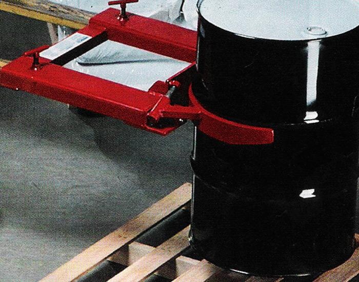 Cangrejo industrial para movimiento de tambos