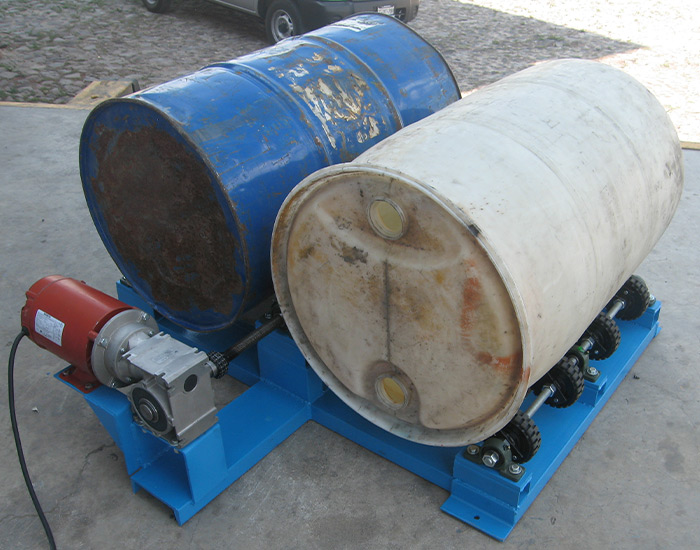Mezclador de tambos con motor