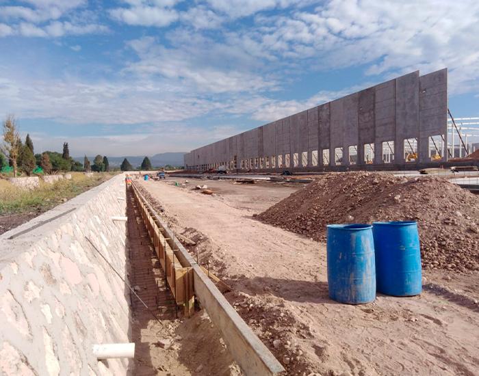 Proceso de construcción INEDESCA