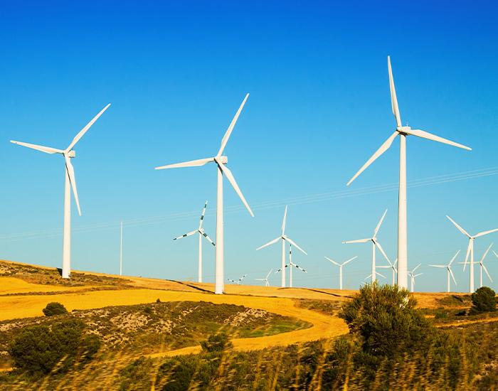 Molinos de energía hidráulica