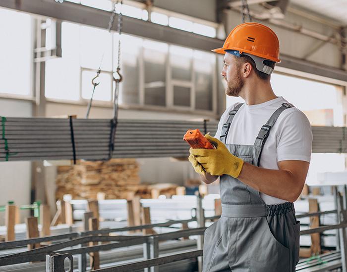 Control para equipos industriales